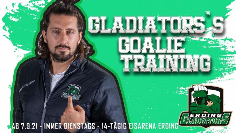 Gladiators Goalie Training